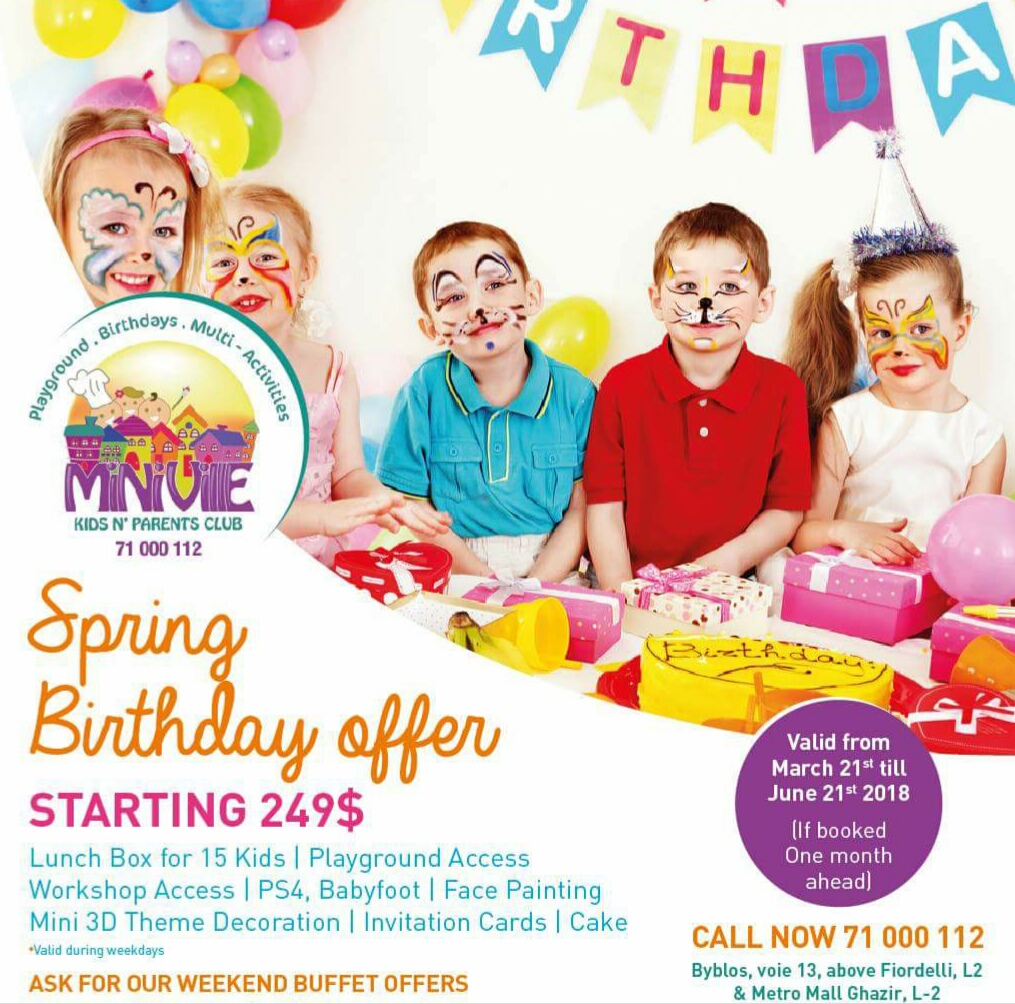 Planning A Birthday? Here's A List That Helps!